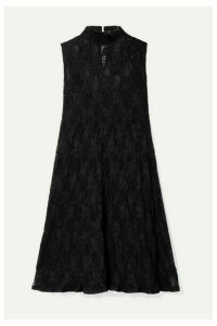 See By Chloé - Tiered Lace Mini Dress - Black