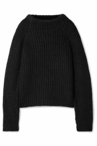 Envelope1976 - Seoul Ribbed Alpaca-blend Sweater - Black