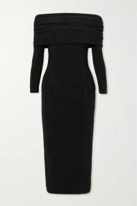 J Brand - Maria Cotton-blend Velvet Skinny Pants - Black