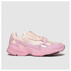 Adidas Pale Pink Falcon Trainers