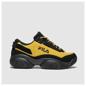 Fila Yellow Provenance Trainers