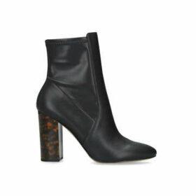 Aldo Aurella 95 - Black Block Heel Ankle Boots
