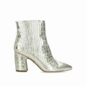 Sam Edelman Hilty - Metallic Gold Ankle Boots