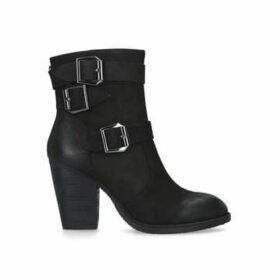 Steve Madden Ya - Black Block Heel Boots