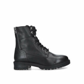 Aldo Rilmawiel - Black Lace Up Biker Boots