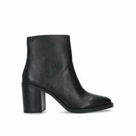 Steve Madden Tenley - Black Block Heel Ankle Boots