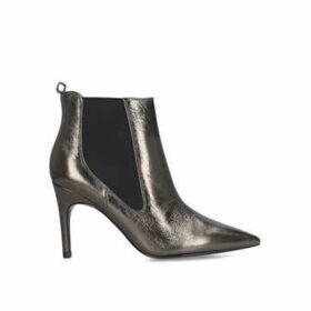 Nine West Joliee - Metallic Stiletto Heel Ankle Boots