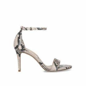 Aldo Eriressi - Snake Print Stiletto Heel Strappy Sandals