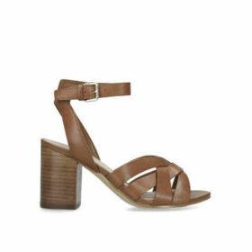 Aldo Gaclya - Tan Block Heel Sandals