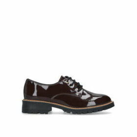 Aldo Celydith - Dark Red Patent Brogues