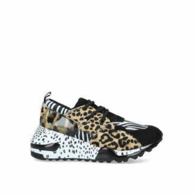 Steve Madden Cliff - Animal Print Chunky Trainers