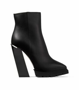 Madra 130 Leather Block Heel Boots