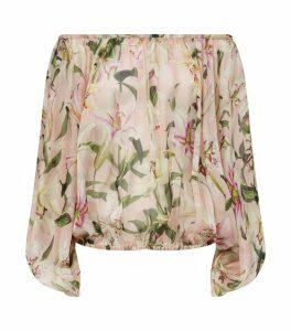 Lily Print Blouse
