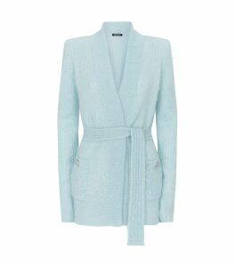 Belted Knit Cardigan