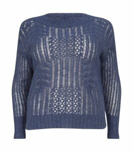 Knitted Metallic Sweater