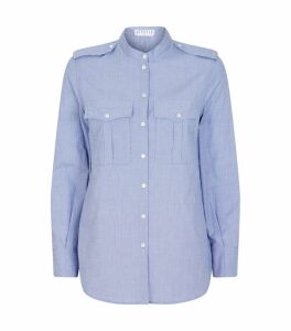 Cotton Long-Sleeved Shirt