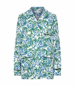Crepe Floral Shirt
