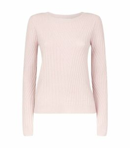Cashmere-Wool Knitted Sweater