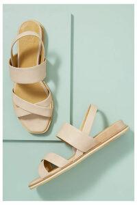 Coclico Katrin Leather Sandals - White, Size 37