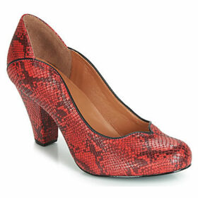 Cristofoli  SNAKE MESTICO  women's Court Shoes in Red