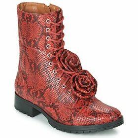 Cristofoli  SNAKE VERMELHO  women's Low Ankle Boots in Red