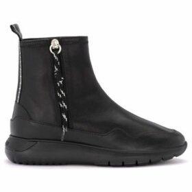 Hogan  Stivaletto H371  Interactive³ in pelle nera  women's Mid Boots in Black