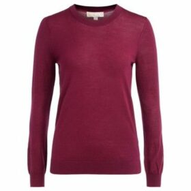 MICHAEL Michael Kors  sweater in garnet red merino wool  women's Sweater in Red