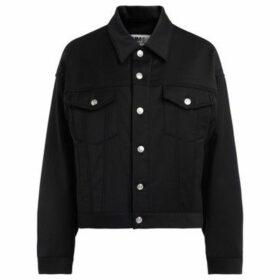 Mm6 Maison Margiela  Maison Margiela black jacket with plush interior  women's Jacket in Black