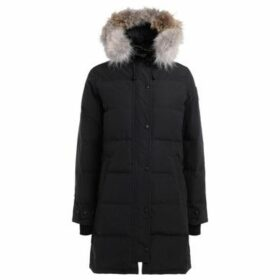 Canada Goose  Parka Shelburne with adjustable and removable hood  women's Parka in Blue