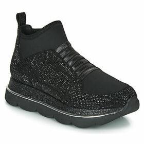 Café Noir  BLANDI  women's Shoes (High-top Trainers) in Black
