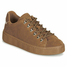 No Name  GINGER SNEAKER  women's Shoes (Trainers) in Brown