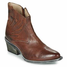 Casta  DAI  women's Mid Boots in Brown