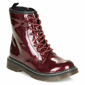 Refresh  69171-BURGUNDY  women's Mid Boots in Red