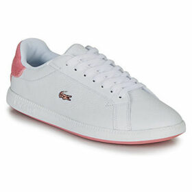 Lacoste  GRADUATE 319 1 SFA  women's Shoes (Trainers) in White