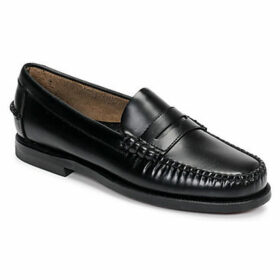 Sebago  CLASSIC DAN W  women's Loafers / Casual Shoes in Black