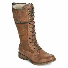 Mustang  MALAIKA  women's High Boots in Brown