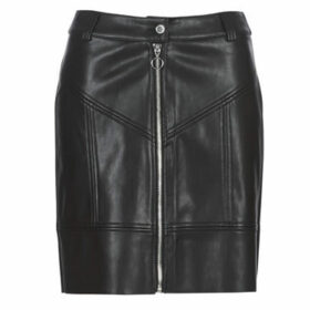 Morgan  JZIP  women's Skirt in Black