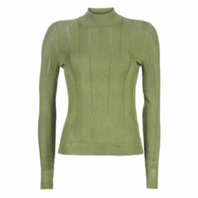 Noisy May  NMJACK  women's Sweater in Kaki