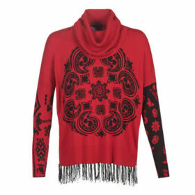 Desigual  PORTLAND  women's Sweater in Red