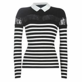 Morgan  MANOR  women's Sweater in Black