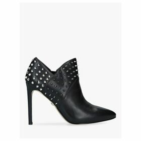 Sam Edelman Wally Leather Stud Shoe Boots, Black