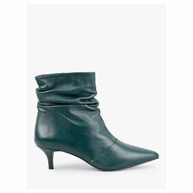 hush Audley Leather Ankle Boots