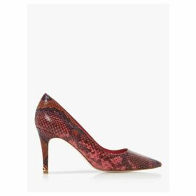Dune Anna Signature Heel Trim Court Shoes