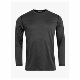 Björn Borg Axton Long Sleeve Performance Training Top, Black Beauty