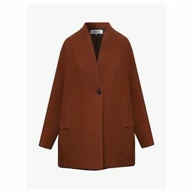 Gerard Darel Venus Tailored Coat, Brown