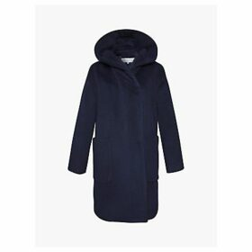 Gerard Darel Phoenix Wool Coat, Blue