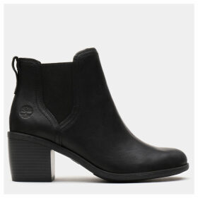 Timberland Brynlee Park Chelsea Boot For Women In Black Black, Size 9