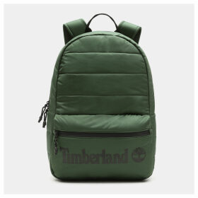 Timberland Zip-top Backpack In Green Green Unisex, Size ONE