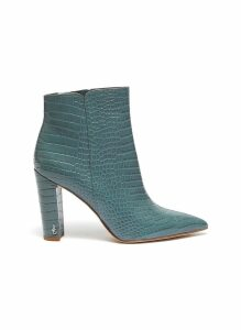 'Raelle' leather ankle boots