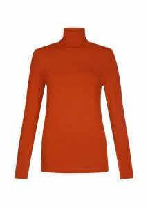Mischa Roll Neck Dark Orange